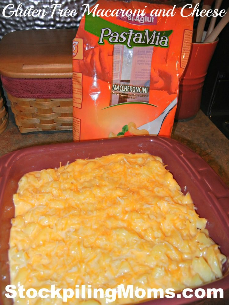 Gluten Free Macaroni and Cheese is easy to prepare and tastes yummy!