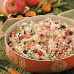 Originally published as Apple Walnut Slaw in Taste of Home's Holiday & Celebrations Cookbook Annual 2005, p127