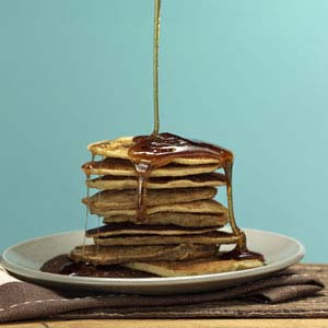 Originally published as Gluten-Free Banana Pancakes in Healthy Cooking April/May 2011, p58