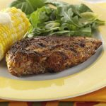 Originally published as Blackened Chicken in Quick Cooking July/August 2004, p37