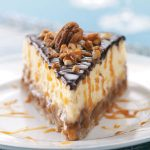 Originally published as Layered Turtle Cheesecake in Taste of Home October/November 2009, p88