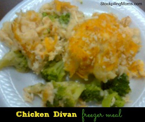 Chicken Divan is a delicious freezer meal that the whole family will love!