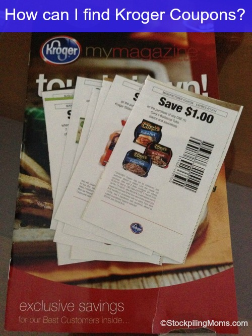 how can I find Kroger Coupons