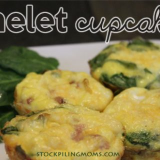 Omelet Cupcakes Recipe