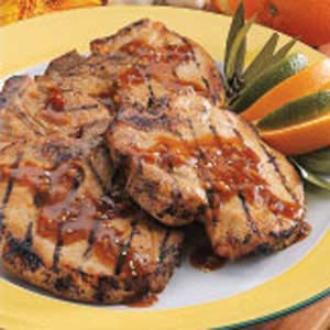 Originally published as Orange-Ginger Pork Chops in Light & Tasty August/September 2001, p37