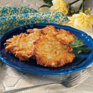Originally published as Crispy Potato Pancakes in Reminisce Extra August 2001, p53