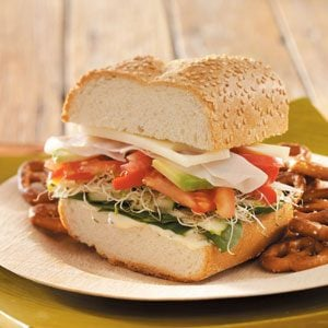 Originally published as Summer Veggie Subs in Healthy Cooking June/July 2009, p31