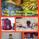 Back To School Success  Transitioning from Summer to School
