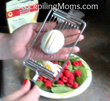How to slice the perfect egg with a cheese slicer