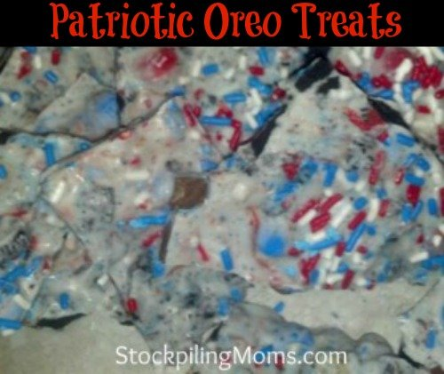 Patriotic Oreo Treats are so easy to make and perfect for the 4th of July!