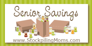 Senior Savings Stockpiling