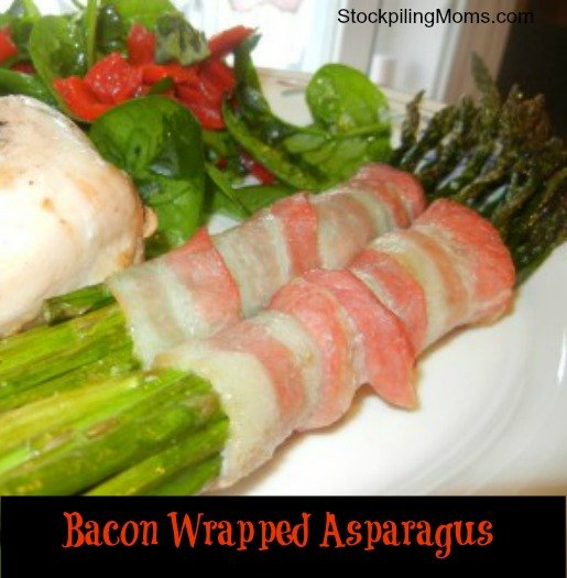 Bacon Wrapped Asparagus is gluten free and so easy to make!