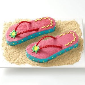 Originally published as Flip-Flop Cakes in Taste of Home August/September 2009