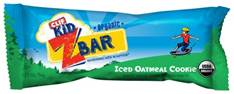 CLIF Kid Iced Oatmeal Cookie Zbars