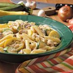 Originally published as Vegetarian Penne in Quick Cooking May/June 2005, p47