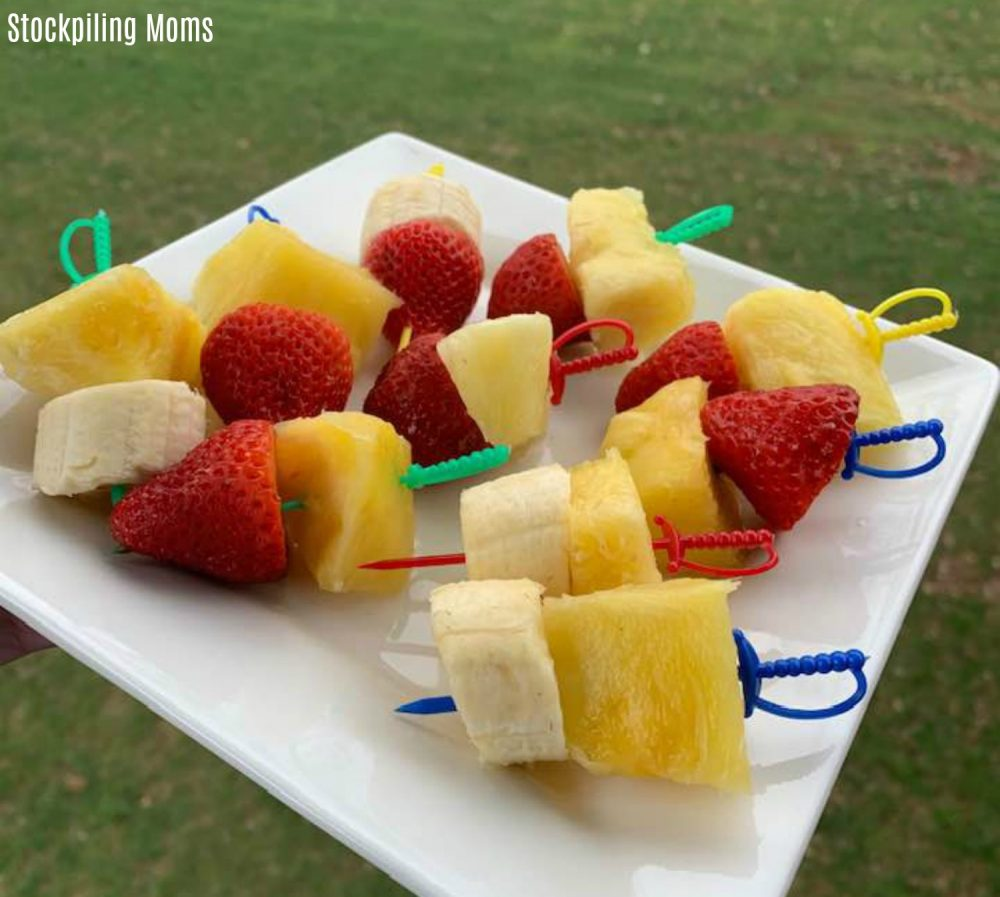 Fruit Swords are Perfect for Pirate Themed Party!