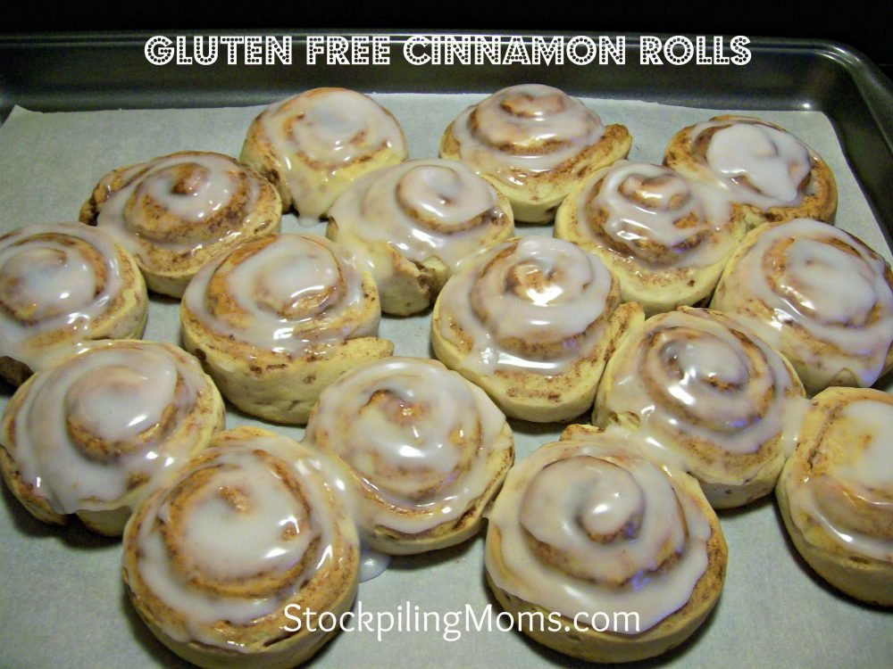 It doesn't get better than Gluten Free Cinnamon Rolls on a Saturday morning! My family loves these!