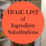 Ingredient Substitutions final