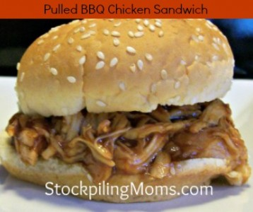 Pulled BBQ Chicken Sandwich Recipe