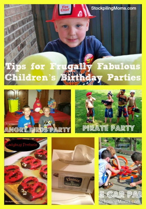 Tips for Frugally Fabulous Children's Birthday Parties