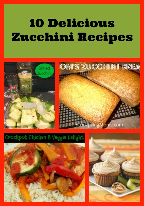 Zucchini Recipes
