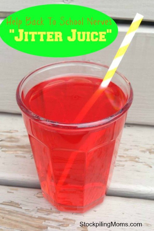 Help Back To School Nerves with Jitter Juice!