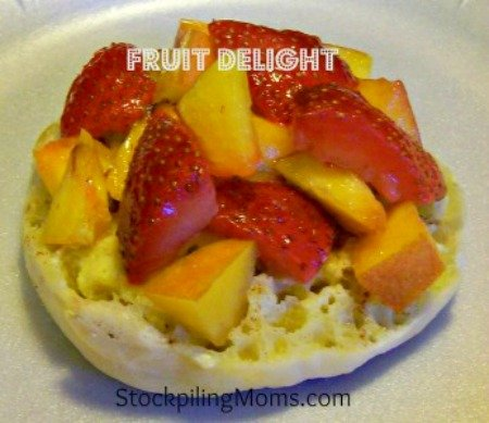 Fruit-Delight is a healthy breakfast or snack idea! Great when carb cycling!
