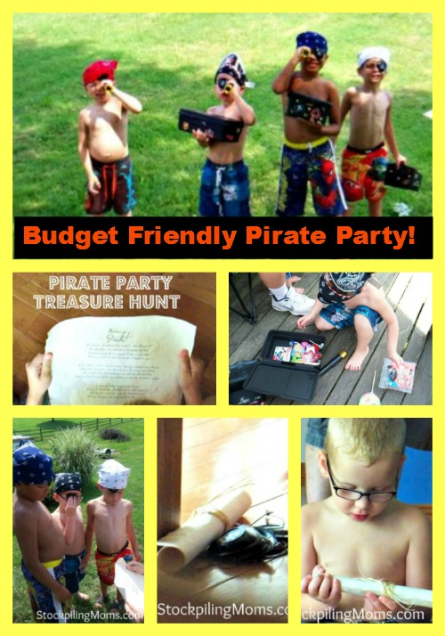 How to plan a budget friendly pirate party