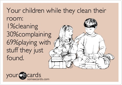 Kids Cleaning Room