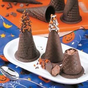 Mousse Filled Witches Hat