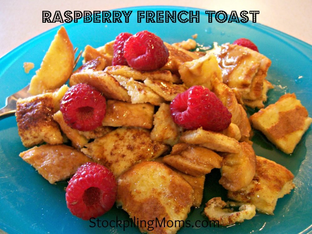 Raspberry French Toast is the perfect summer breakfast.