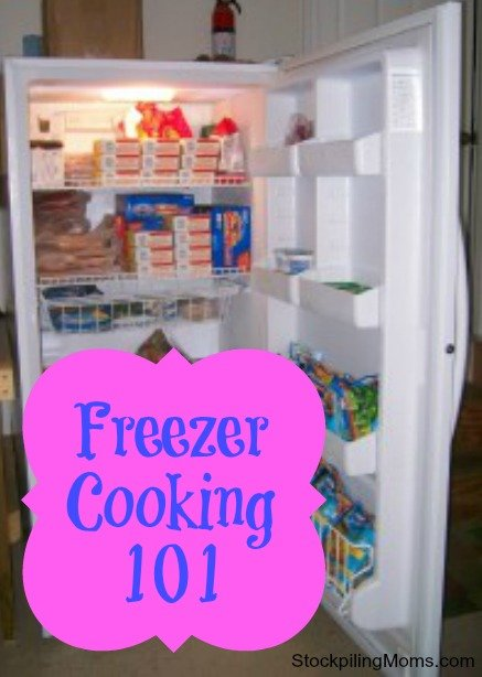 Freezer Cooking Series - How To Get Started, Tips, Recipes and More!
