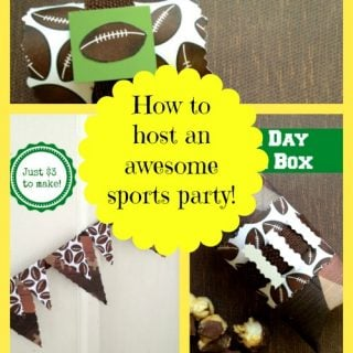 Sports Party…perfect for your all star