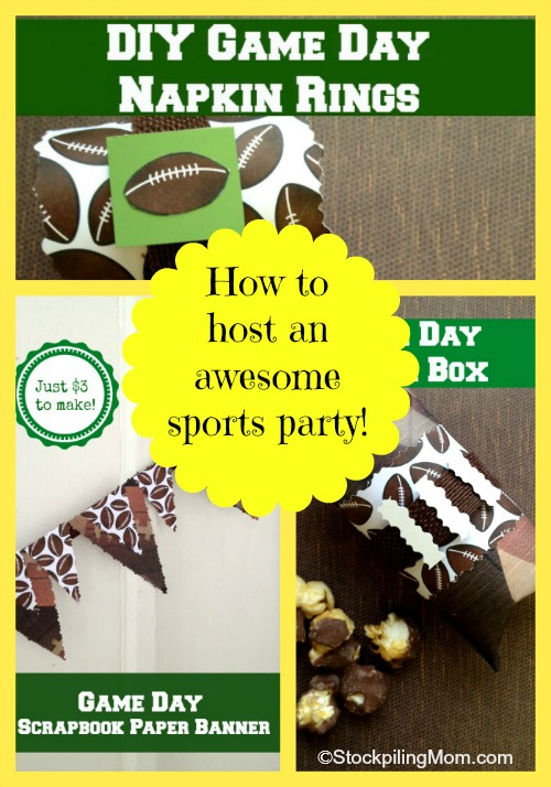 How to host an awesome sports party without breaking the bank!
