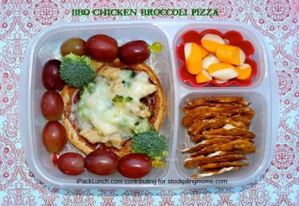 3 or 3 Lunchbox Challenge - Chicken, Broccoli & Grapes