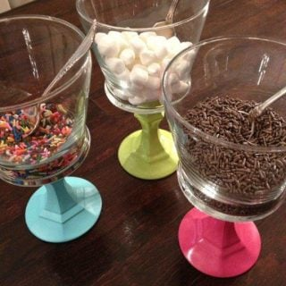 DIY Toppings Containers