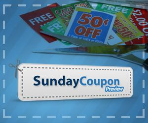 Sunday Coupon Preview :: 10/3/10