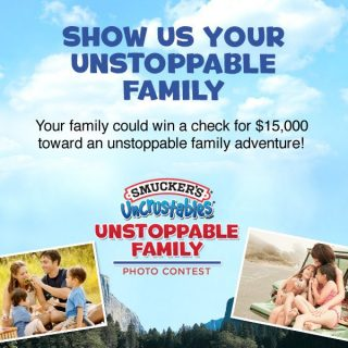 Smucker's Uncrustables Unstoppable Family Photo Package Giveaway :: CLOSED