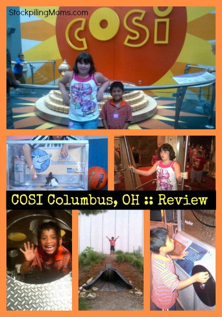 COSI Review - Family Fun in Columbus, OH