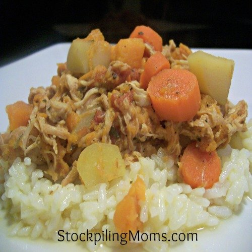 Chicken and Sweet Potato Stew is perfect for fall!