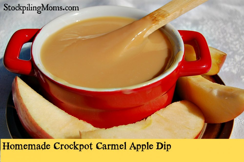 CrockpotCarmelAppleDip