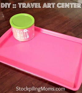 DIY  Travel Art Center 4