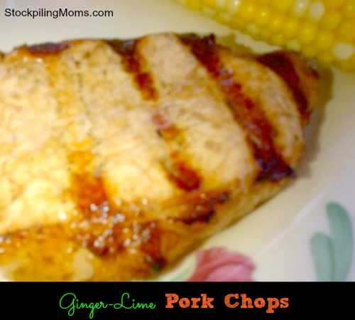 Ginger-Lime Pork Chops