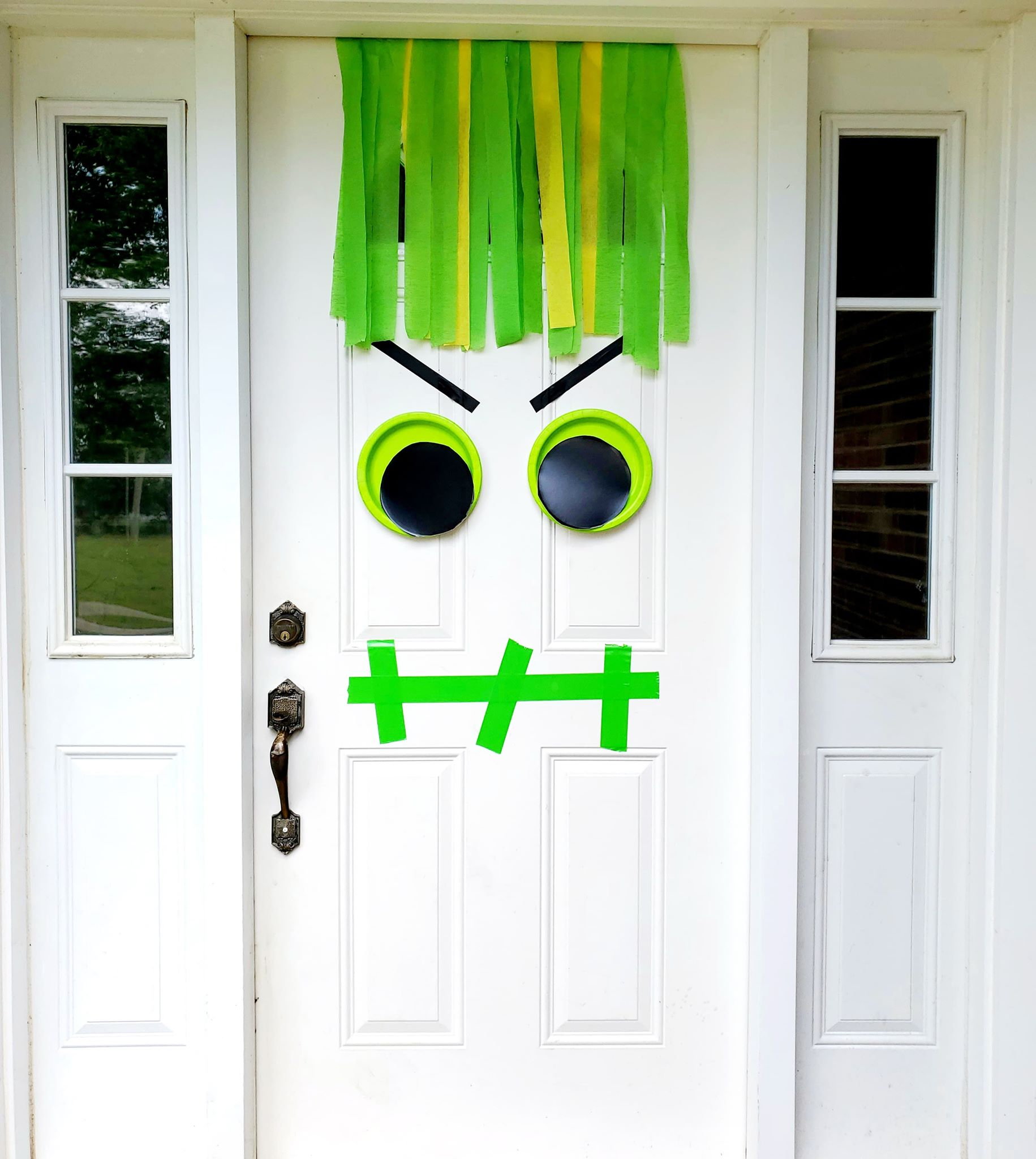 Monster Halloween Door