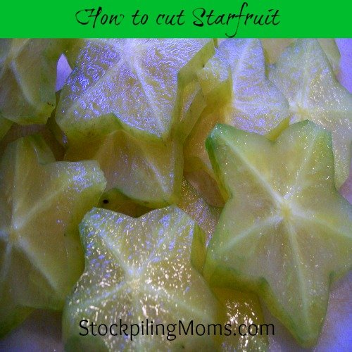 How to cut starfruit. This is a fun fruit that kids will really enjoy.