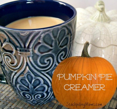 This Pumpkin Pie Creamer is all natural and delicious!