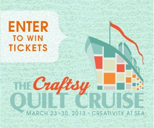 Craftsy – Quilt Cruise Giveaway