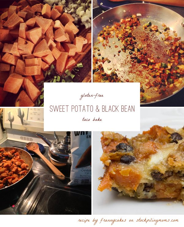This vegetarian recipe pulls together one of my favorite fall foods - sweet potato - with Mexican flavors and a bag of tortilla chips.