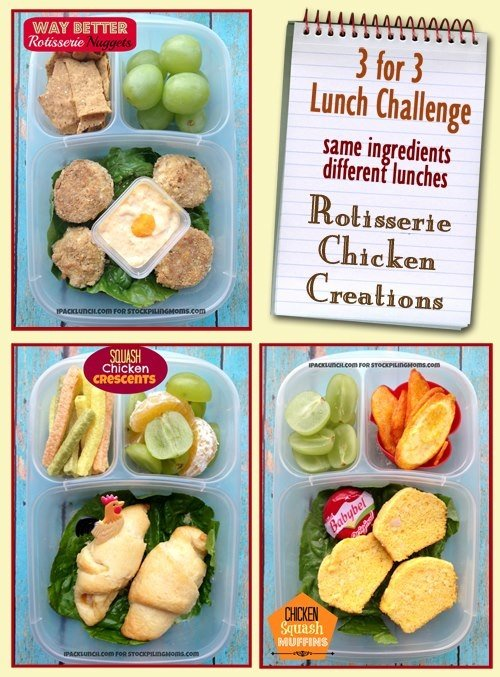 Lunch Challenge - Rotisserie Chicken