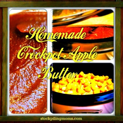 Homeae Crockpot Apple Butter Recipe
